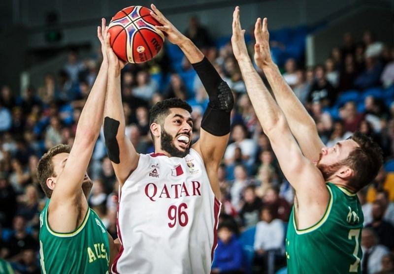بسکتبال انتخابی جام جهانی، شکست سنگین قطر در ملبورن