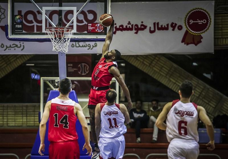 لیگ برتر بسکتبال، ادامه شگفتی سازی مشهدی ها، شکست سنکین مس در اصفهان